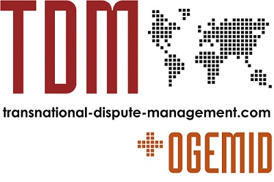 Transnational Dispute Management logo